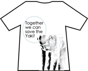 One T-shirt design to inspire you from our volunteer Sophie.
