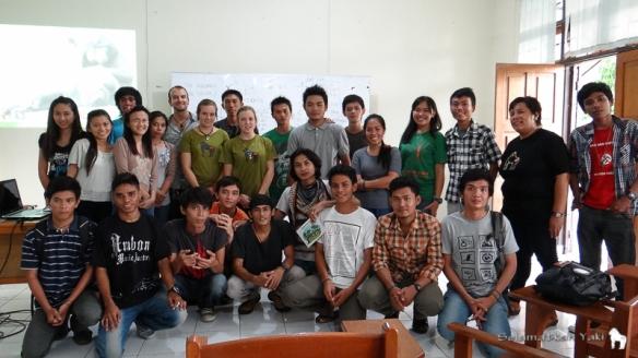 Talk at UNSRAT University.