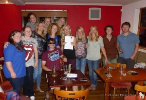 16 Newquay zoos staff taking part in the quiz