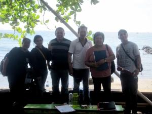 From left to right - Ruth, Keren, Myckel, Donny, Yunita and Alfons.