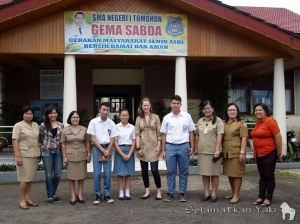 Thank you for your support, SMA Negeri 1 Tomohon! | Terima kasih untuk dukungannya, SMA Negeri 1 Tomohon!