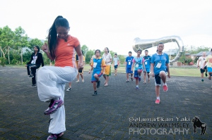 Morning Zumba! Mari jo iko!