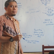 """Meet Edyson, our Tangkoko Project Manager! """"I love contributing to yaki conservation because I am happy to prevent and reduce the rate of extinction of the largest non-human primates are endemic to North Sulawesi."""""""