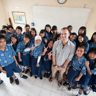"""Meet our wonderful Program Manager, the one and only Harry Hilser! What inspired him to travel all the way to North Sulawesi and contribute to yaki conservation? He says, """"Yaki are a unique and wonderful cousin of ours, who deserve to share this beautiful planet we live on for many years to come."""""""