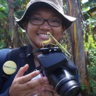 """Meet Marsya of our Social Media team! She says, """"I love contributing to yaki conservation, because we are in one circle of life."""""""