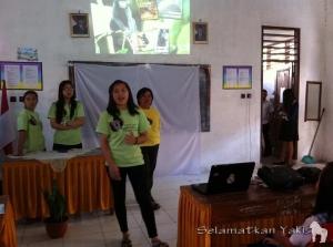 Leyfi at SMP N 2 Langowan.   Leyfi di SMP N 2 Langowan.