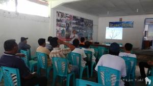 Pertemuan FMKH di Pinangunian.  FMKH meeting in Pinangunian.