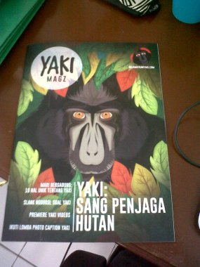 The very first Yaki Magazine! By our master brain: Joe!