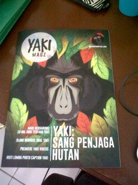 The very first Yaki Magazine! By our master brain: Joe!