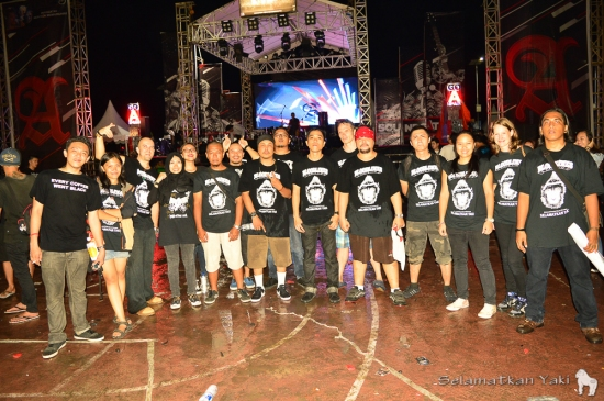 Bloodlines band members and our Selamatkan Yaki members, together we can save the yaki!.jpg