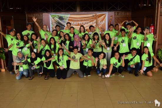 Peserta dan panitia Yaki Youth Camp 2015!
