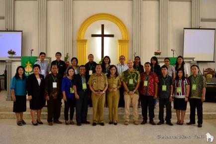 Participants and committee of the Torang Bacirita Green Gospel Workshop 2015